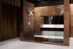 Мрамор Браун Шоколад ванная