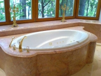 Мрамор Еллоу Спринг ванная