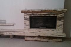 Мрамор Циростратус камин