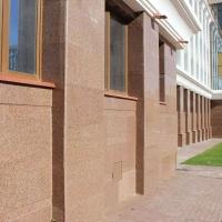 Облицовка фасадов гранитом в городе Саранск