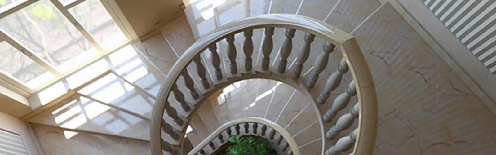 Изготовление и монтаж ступеней и лестниц из камня