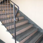 Лестница гранитная Айвори Браун, Верде Кандиас